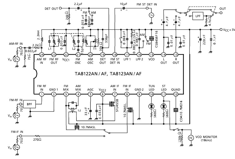 Wondrous Radio Receiver Circuit Diagram Basic Electronics Wiring Diagram Wiring Cloud Gufailluminateatxorg