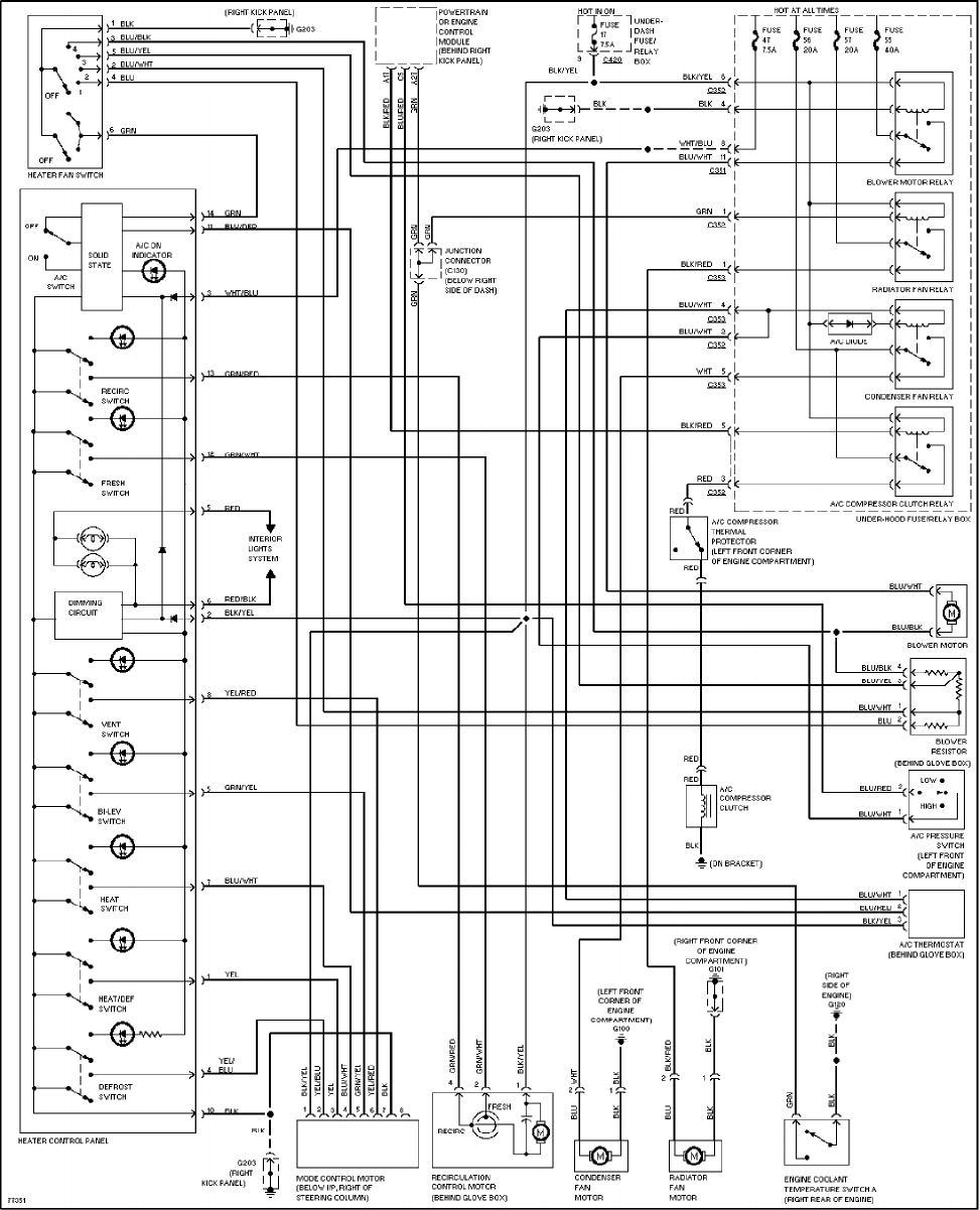 honda civic wiring diagram 1997