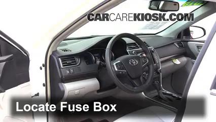 Peachy Interior Fuse Box Location 2015 2017 Toyota Camry 2015 Toyota Wiring Cloud Xortanetembamohammedshrineorg