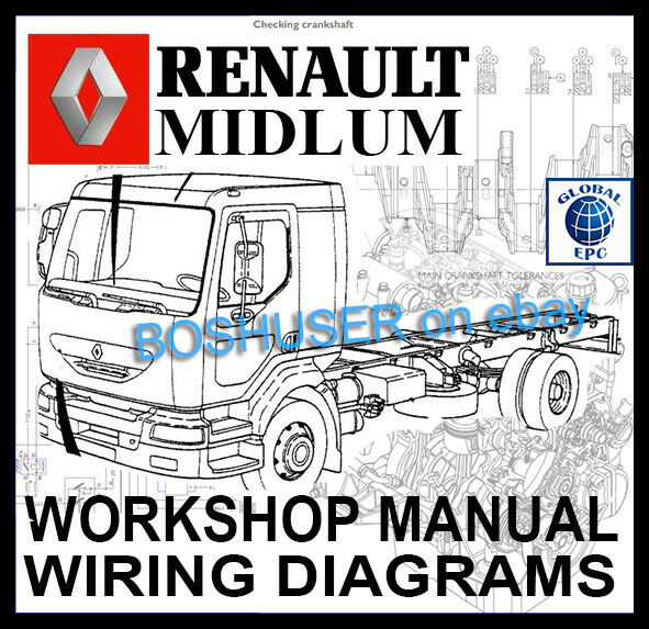 Super Renault Midlum Truck Lorry Workshop Service Repair Manual Wiring Wiring Cloud Dulfrecoveryedborg