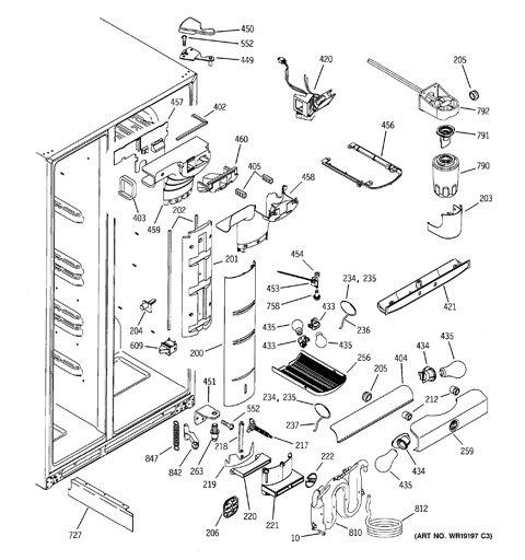 [WQZT_9871]  TB_0821] Refrigerator Wiring Diagram Ge Pss25Sgna Bs Schematic Wiring | Wiring Diagram Ge Profile |  | Arcin Benkeme Mohammedshrine Librar Wiring 101