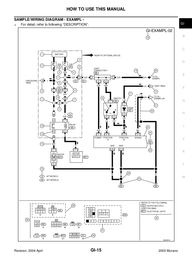 2009 Nissan Murano Remote Start Wiring Diagram