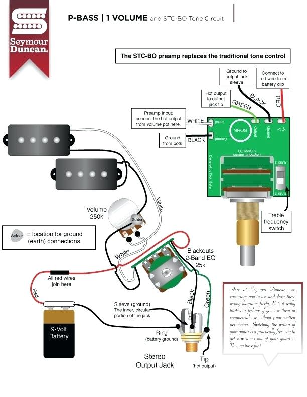 yh7918 wiring diagram for p bass free diagram