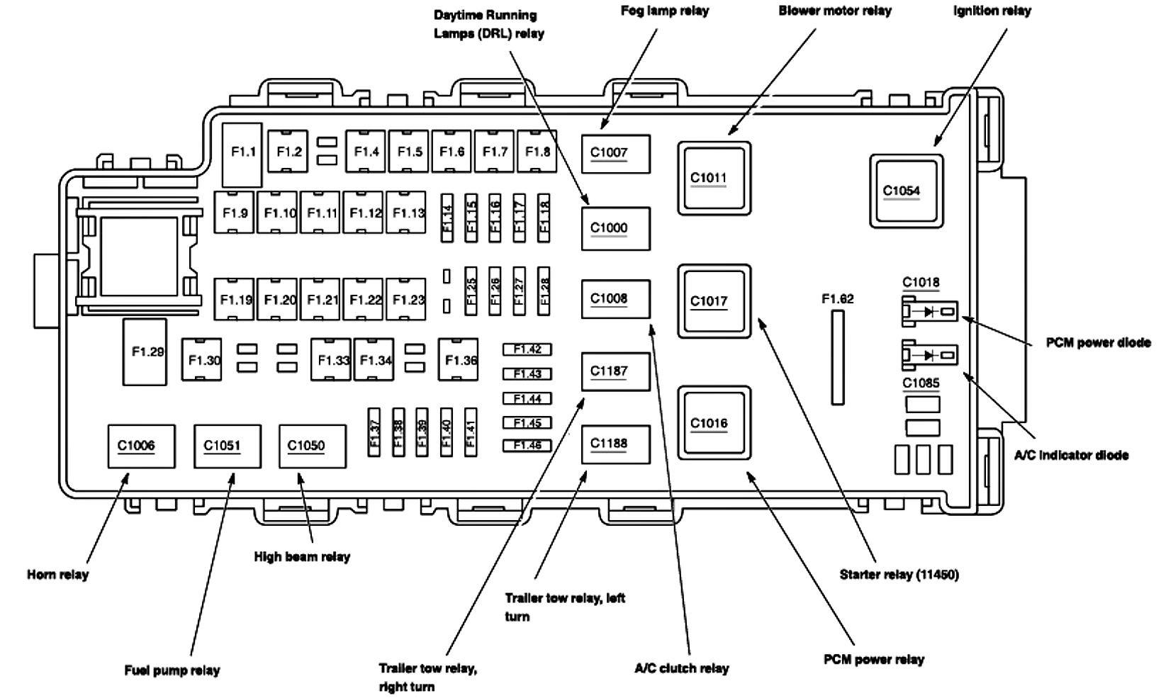 05 Ford Explorer Wiring Diagram