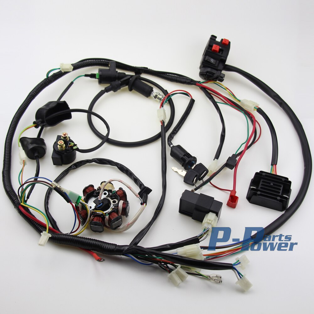 Miraculous Wiring Harness Kit Basic Electronics Wiring Diagram Wiring Cloud Licukshollocom