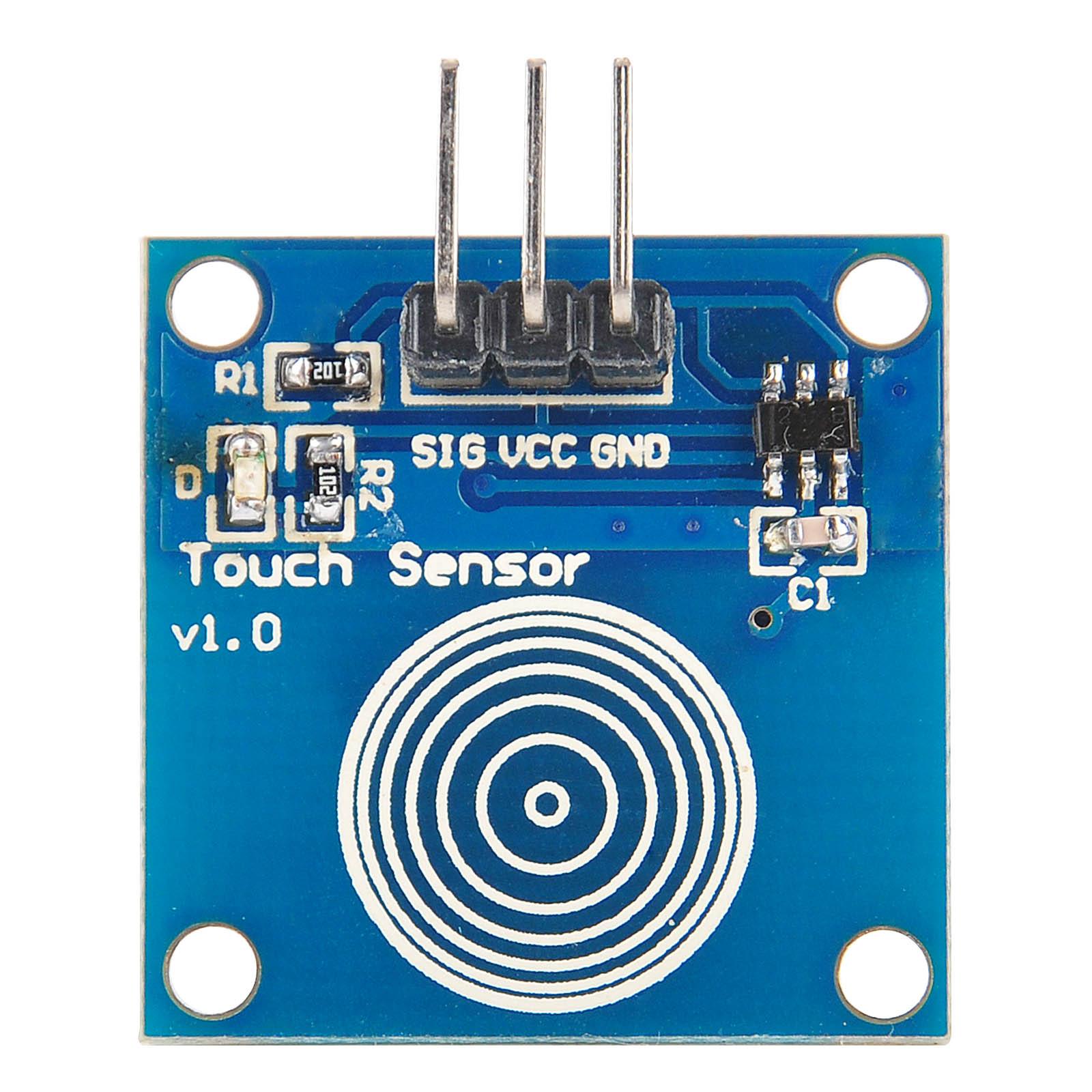 Phenomenal Arduino Lesson Digital Touch Sensor Module Osoyoo Com Wiring Cloud Uslyletkolfr09Org