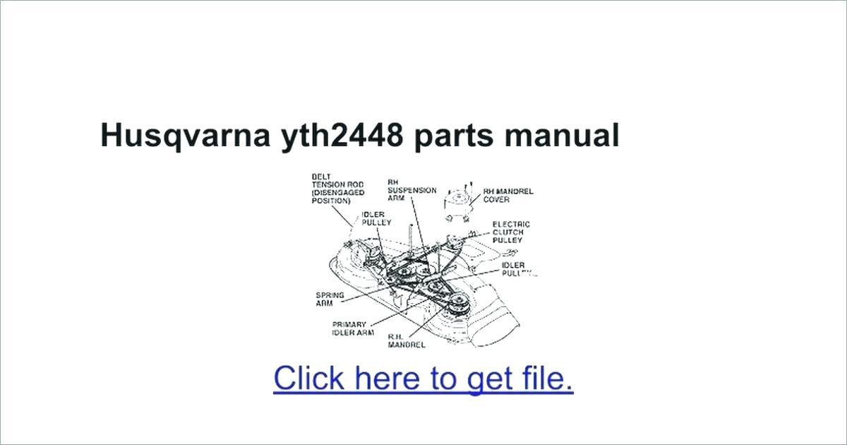 Outstanding Husqvarna Yth20K46 Manual Ebook Wiring Cloud Licukshollocom