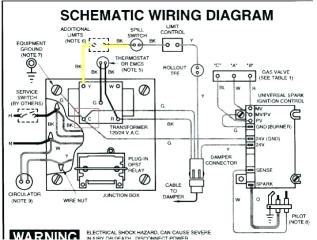 Wiring Diagram For Burnham Steam Boiler