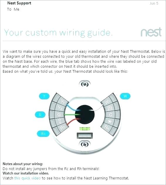 Nest Thermostat Wire Diagram
