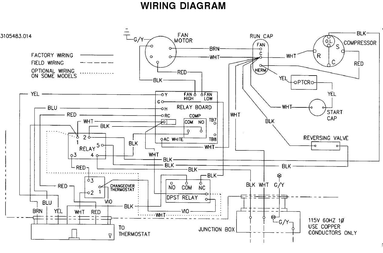 Hvac Compressor Wiring Diagram