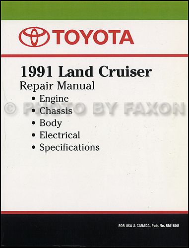 Bg 4795 1992 Toyota Land Cruiser Wiring Diagram Manual Original Wiring Diagram
