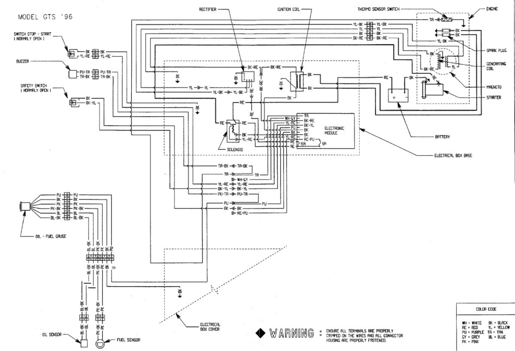1995 Seadoo Xp Vts Wiring Diagram - Wiring Diagram
