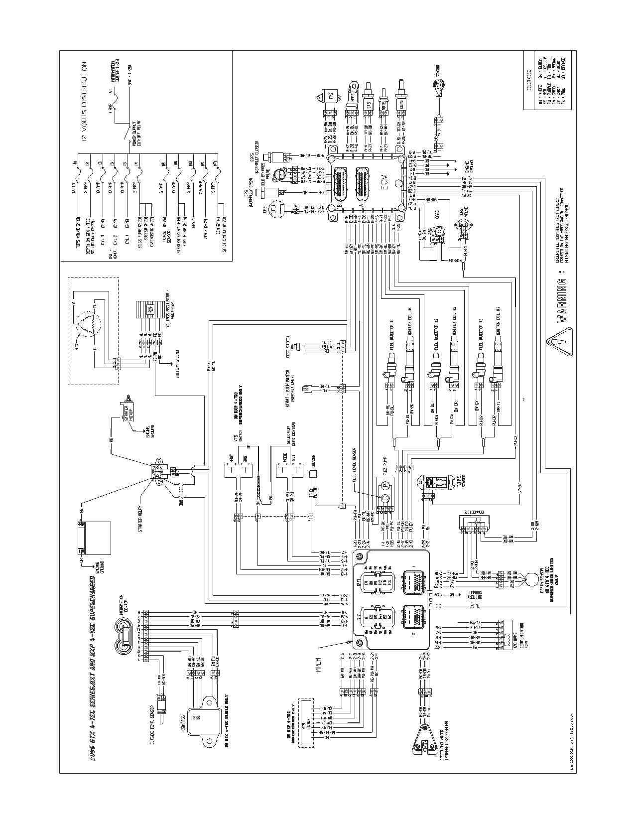 1993 Seadoo Spx Wiring Diagram