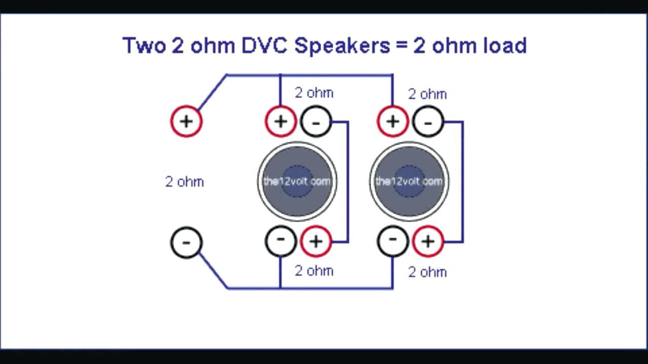 Stupendous 2 Ohm Dvc Wiring Diagram Wiring Library Wiring Cloud Domeilariaidewilluminateatxorg