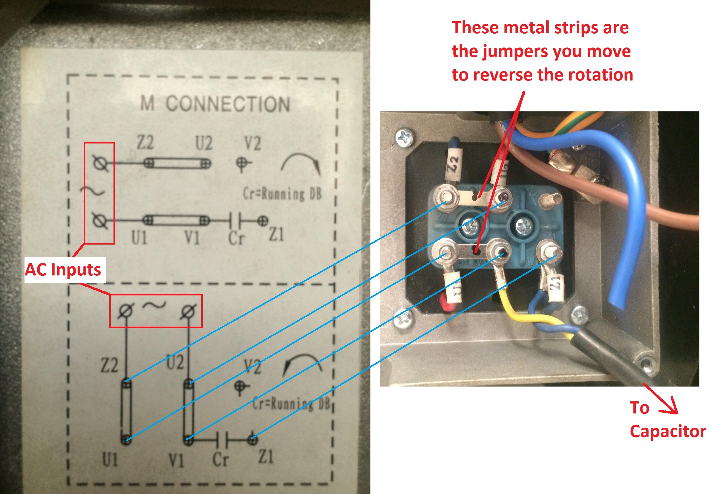 Surprising Wiring How To Wire Up A Single Phase Electric Blower Motor Wiring Cloud Rdonaheevemohammedshrineorg
