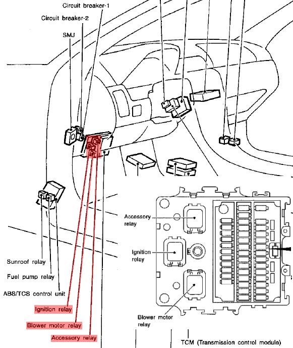 2000 nissan fuel pump wiring diagram  description wiring