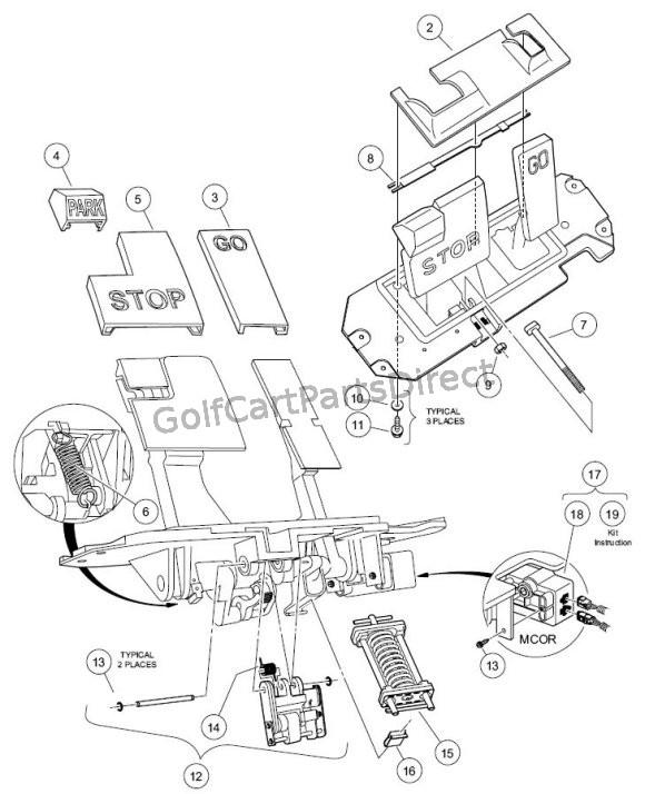 Yb 9023 2007 Club Car Wiring Diagram Schematic Wiring