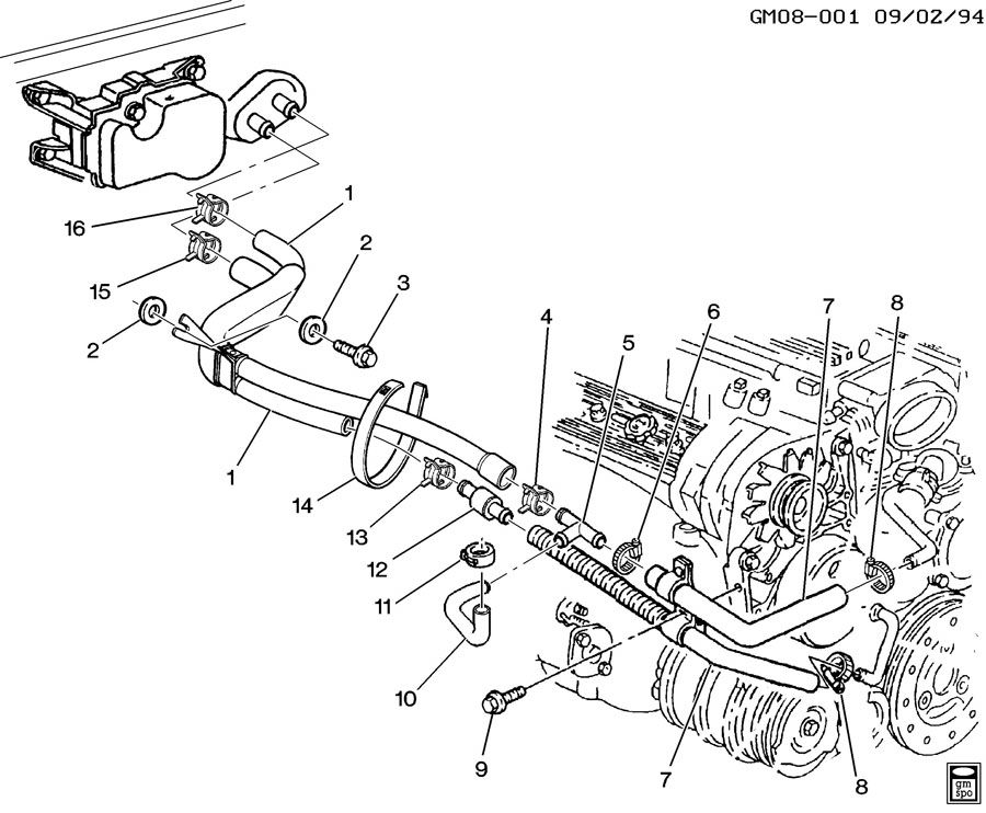 Zd 8506 Home 1984 Corvette Water Pump Diagram Wiring Diagram