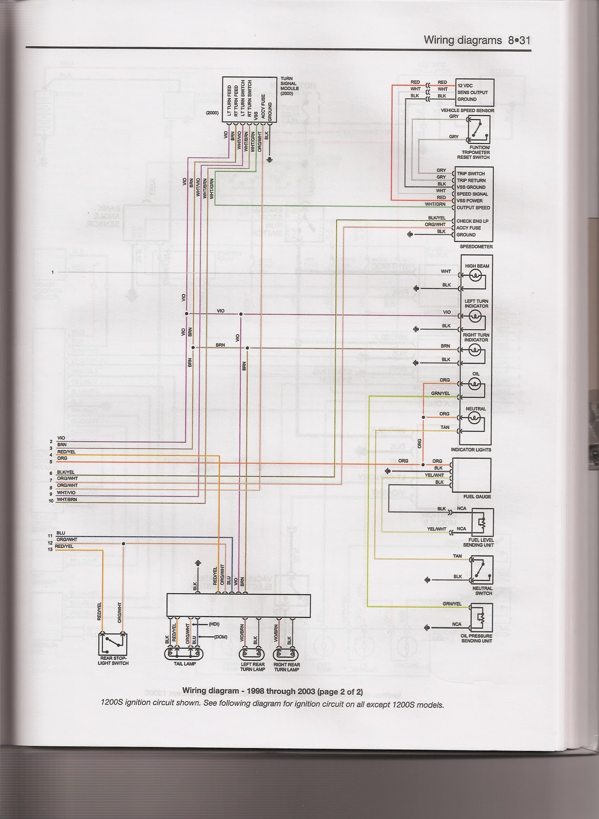 YH_2849 For A Harley Ironhead Xlch Wiring Diagram Schematic Wiring [ 1600 x 1170 Pixel ]