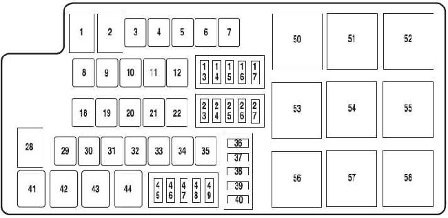 2010 mustang fuse box fy 5974  fuse box diagram also 2009 ford flex fuse box diagram in  fuse box diagram also 2009 ford flex