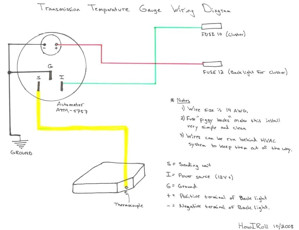 Diagram  Autometer Sport Comp Tach Wiring Diagram Wiring