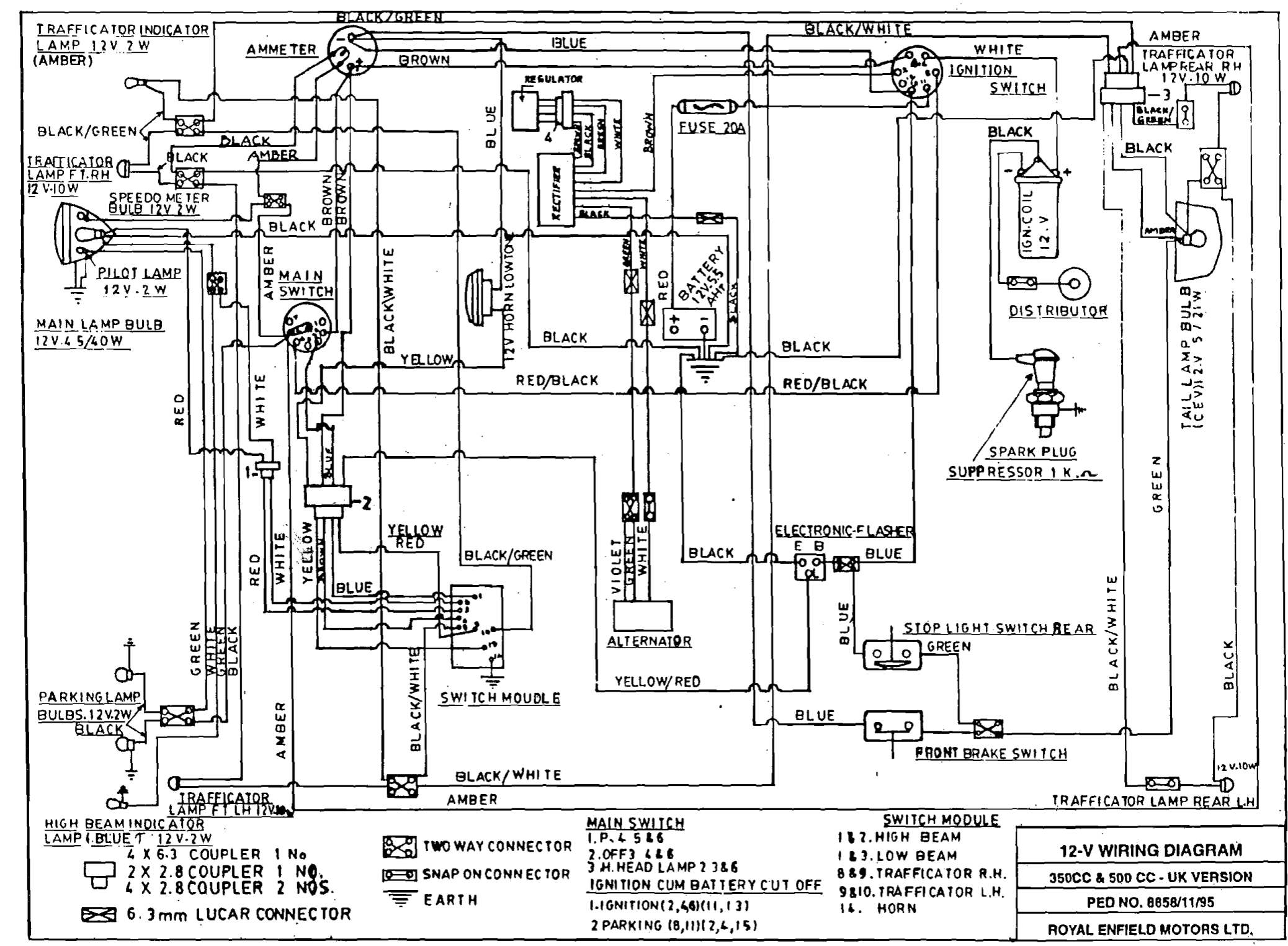 GG_5368] 1956 Indian Royal Enfield Wiring Diagram Schematic Wiring