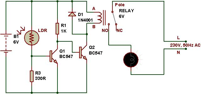 Fabulous How To Use A Relay Buildcircuit Electronics Wiring Cloud Rometaidewilluminateatxorg