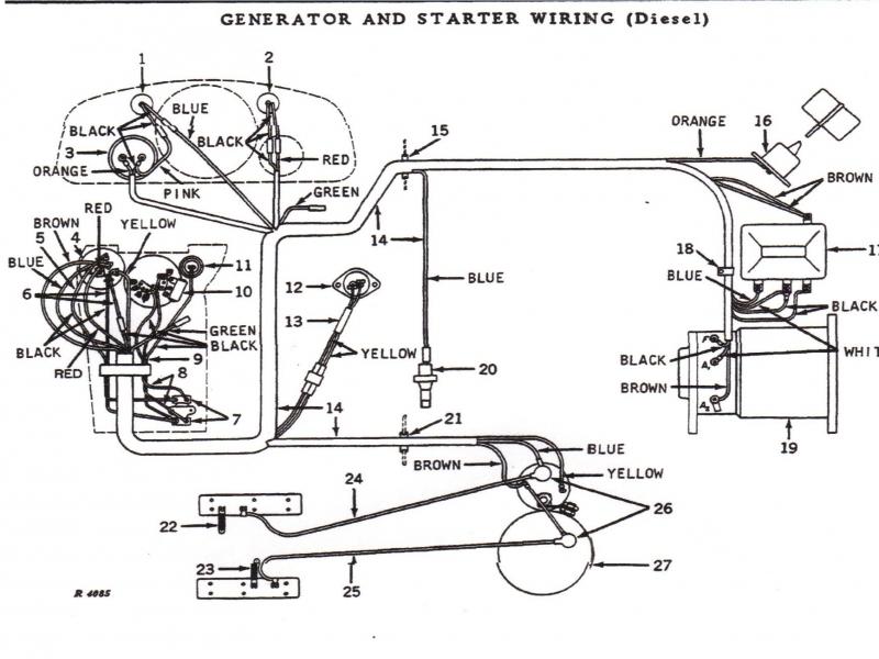 24v starter solenoid wiring diagram gt 3355  deere 4010 starter on 99 ford tractor starter solenoid  deere 4010 starter on 99 ford tractor