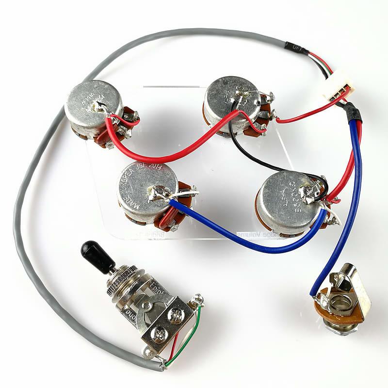 Wiring Diagram Epiphone Les Paul