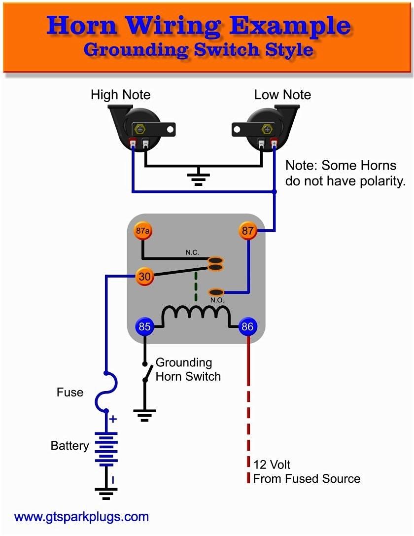 Relay Wiring Diagram 5 Pole