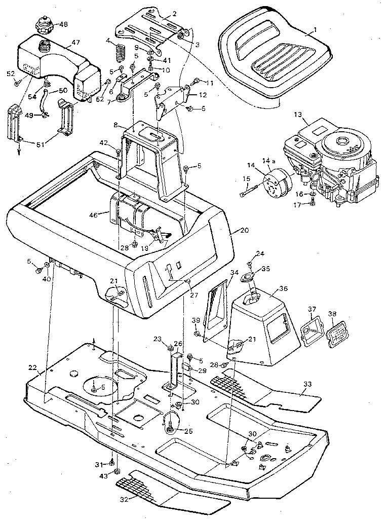 Strange Murray Model 9 30502 Lawn Riding Mower Rear Engine Genuine Parts Wiring Cloud Filiciilluminateatxorg