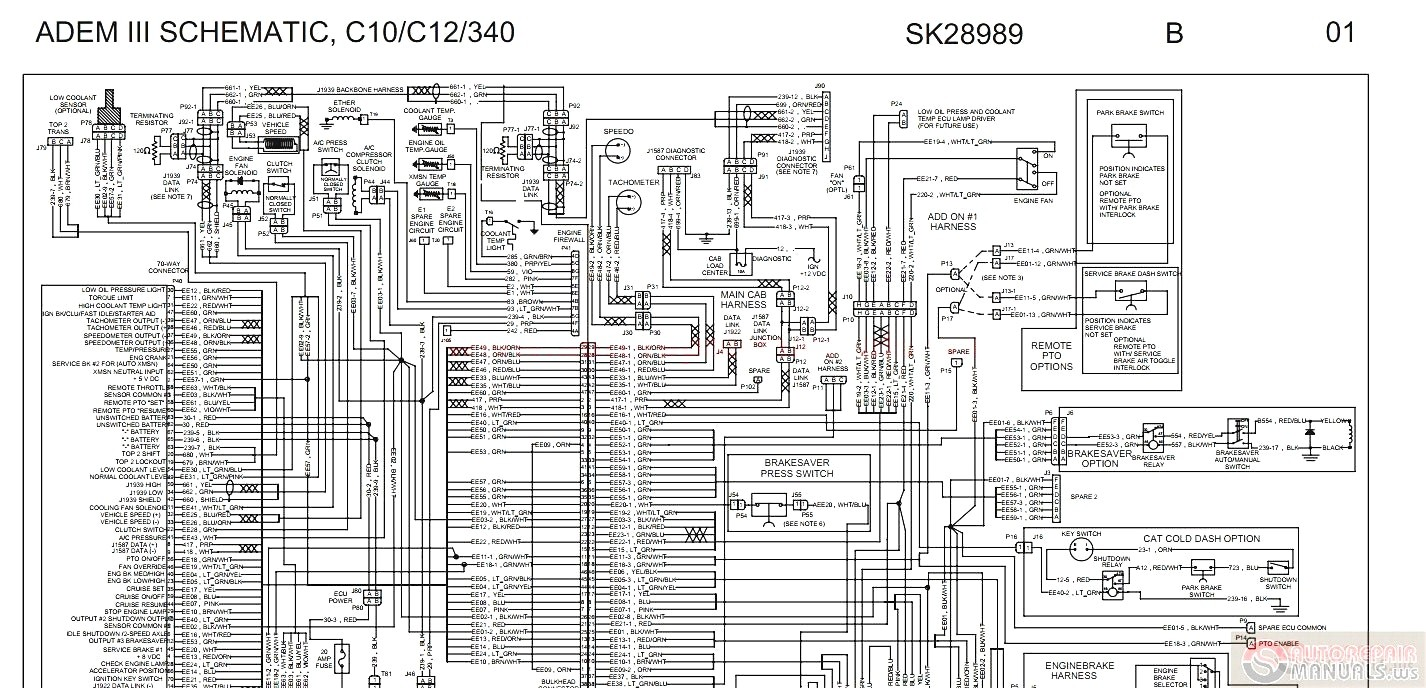 1990 Peterbilt Wiring Diagram