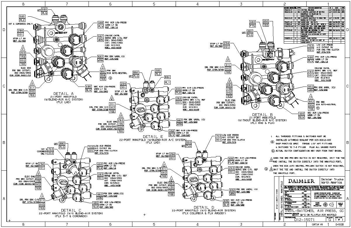 Cb 9158 05 Freightliner Century Wiring Diagram Free Diagram