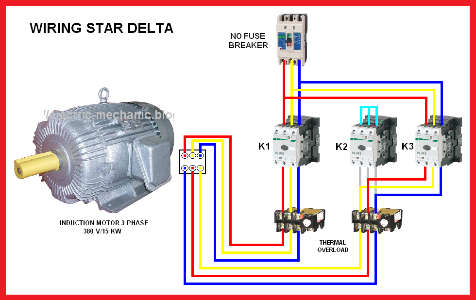 Marvelous Star Delta Motor Connection Diagram Elec Eng World Art Odjo Wiring Cloud Dulfrecoveryedborg