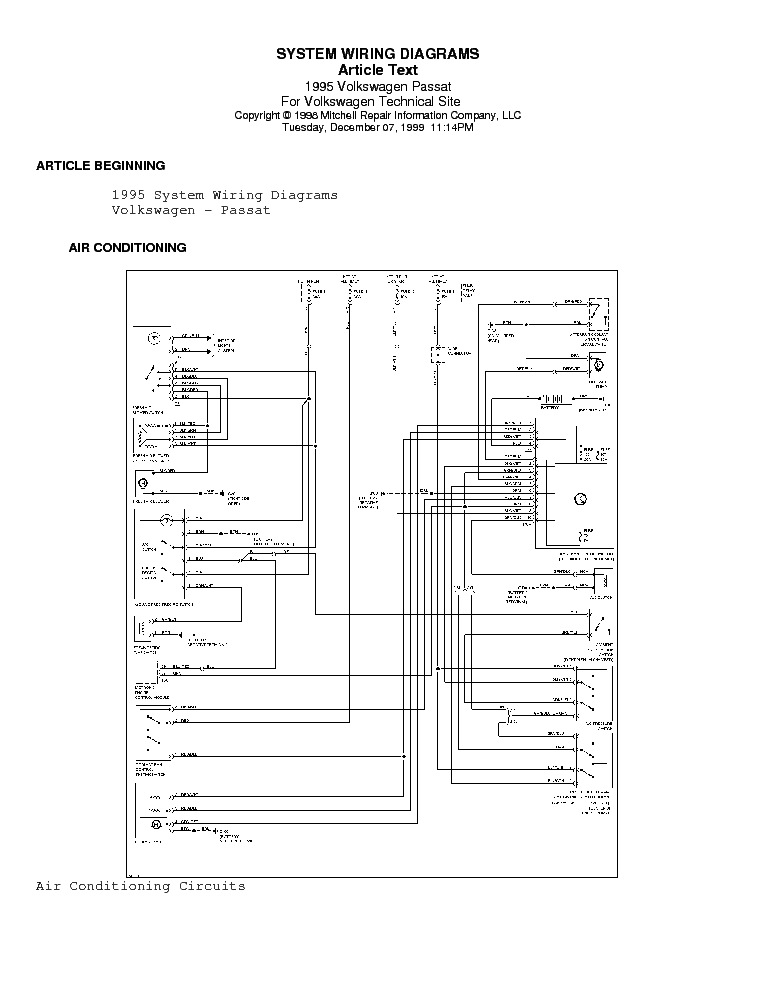 2001 Volkswagen Passat Wiring Diagram - 2009 Dodge Grand Caravan Fuse Box  Diagram for Wiring Diagram SchematicsWiring Diagram Schematics
