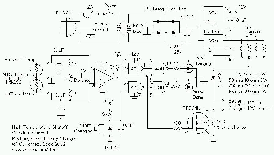 Excellent Battery Charger Circuit Page 5 Power Supply Circuits Next Gr Wiring Cloud Lukepaidewilluminateatxorg