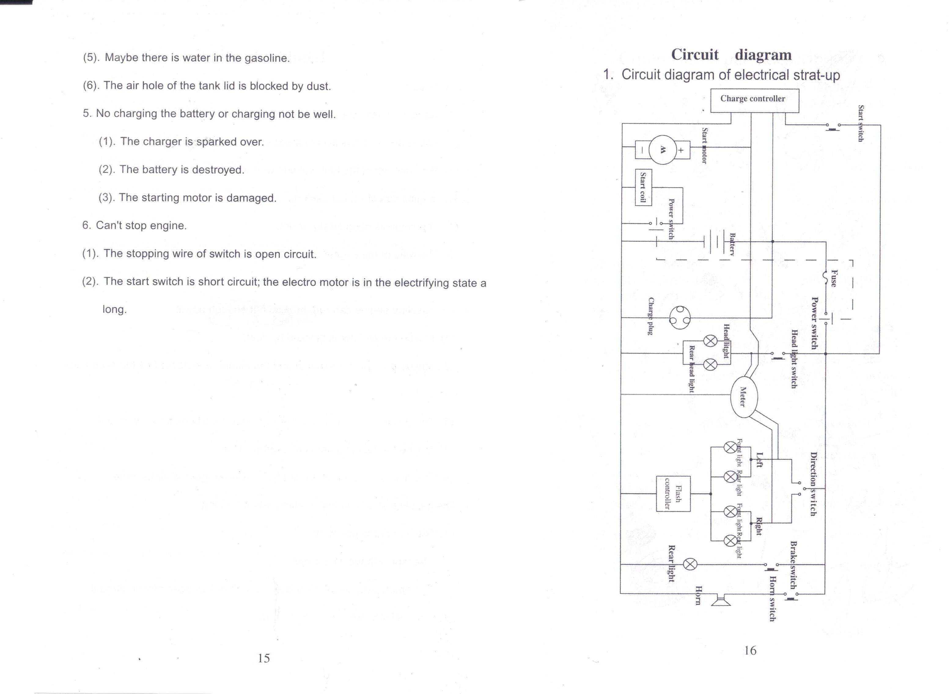 X40 Pocket Bike 40cc Wiring Diagram   40 Chrysler 40m Fuse Box ...