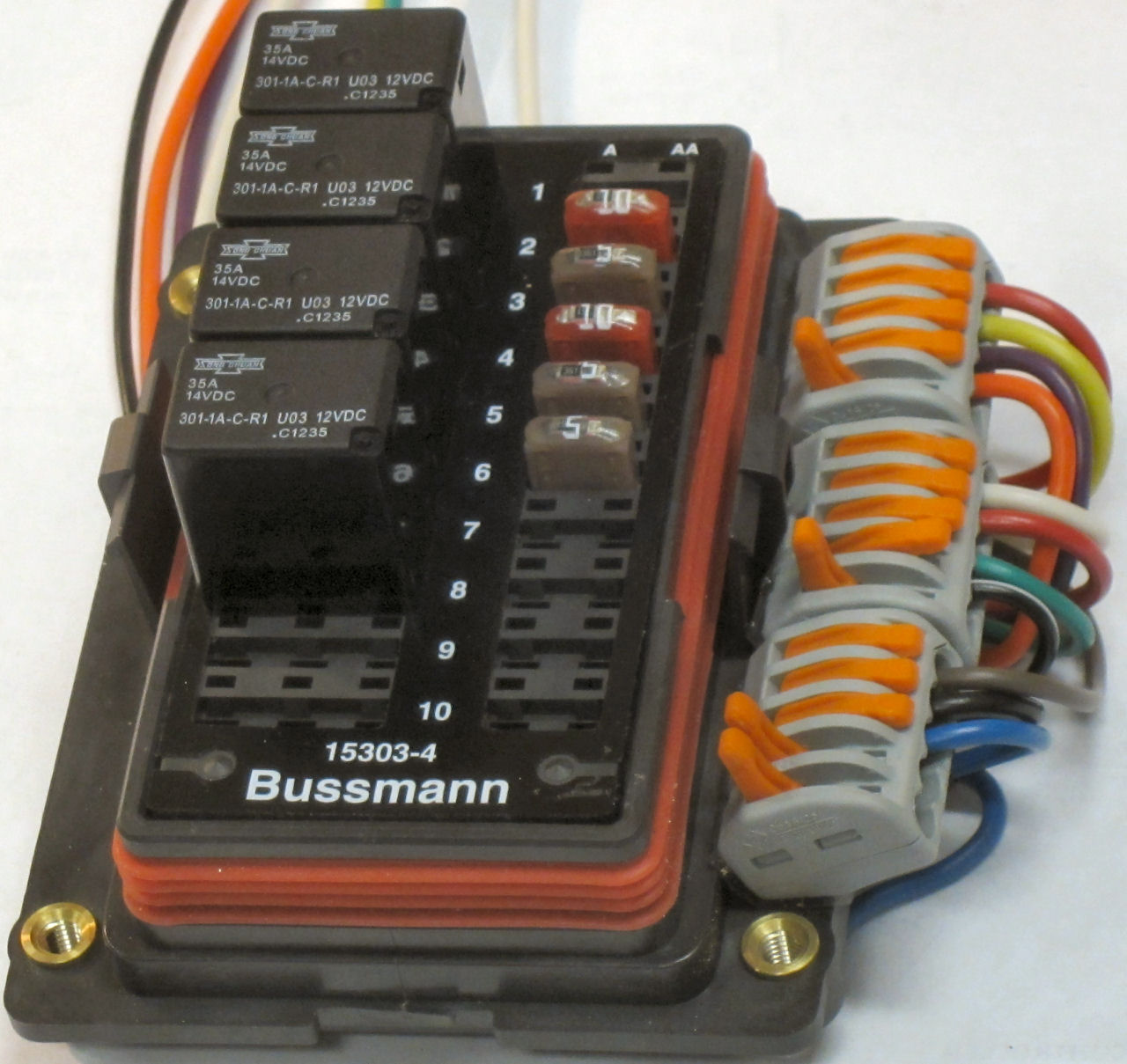 Bussmann Fuse And Relay Box - 2002 Ford Escape Wiring Diagram for Wiring  Diagram Schematics