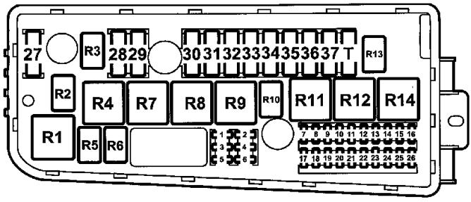 SK_5054] Saab Convertible Fuse Box Schematic WiringMarki Hapolo Mohammedshrine Librar Wiring 101
