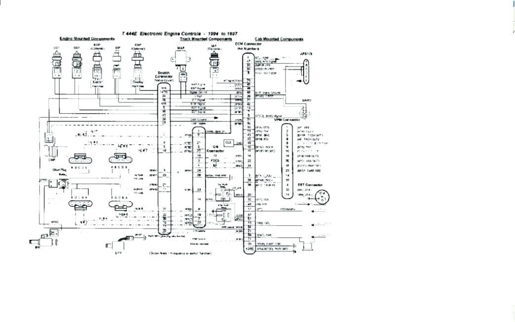 dt466e wiring diagram volkswagen rabbit engine diagram