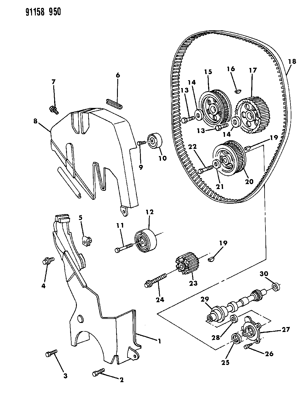 Lm 3393 Fig 35 Engine Wiring Schematic199495 Town Country Caravan And Download Diagram