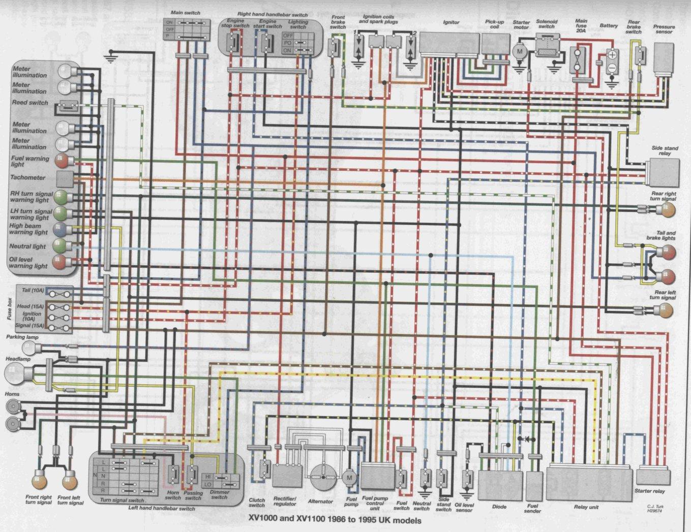 [ANLQ_8698]  WE_9612] 1996 Virago 1100 Wiring Diagram Wiring Diagram   Virago 1100 Wiring Schematic      Alypt Tivexi Mohammedshrine Librar Wiring 101