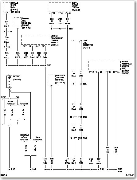 2006 Jeep Liberty Wiring Diagrams