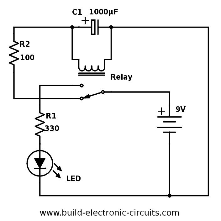 Outstanding Blinking Led Circuit With Schematics And Explanation Wiring Cloud Uslyletkolfr09Org