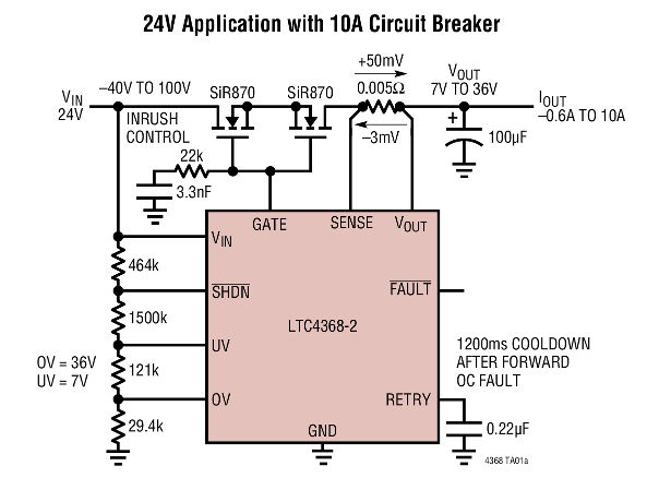 Stupendous Bi Directional Circuit Breaker Ic Also Protects Against Bi Polar Wiring Cloud Genionhyedimohammedshrineorg