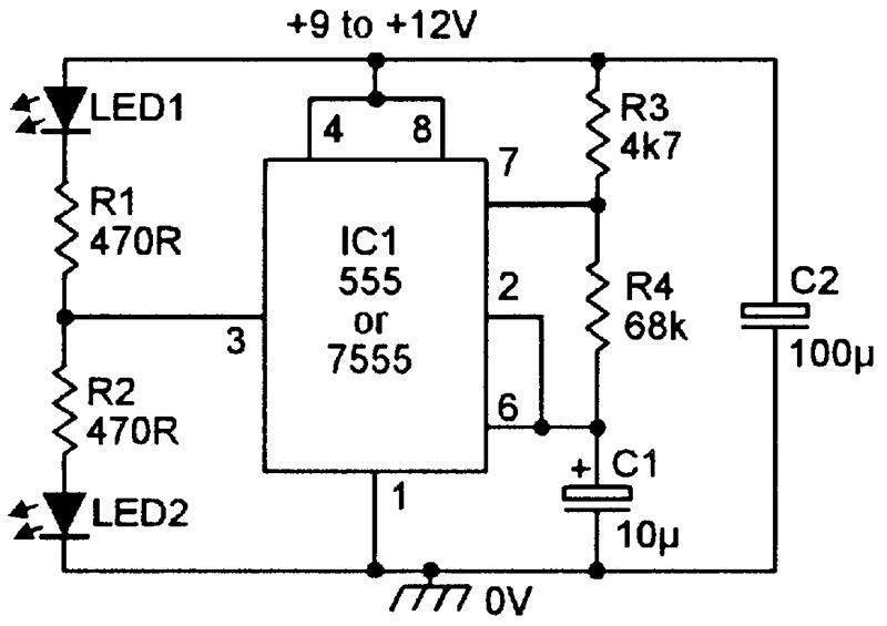 Magnificent Practical Led Indicator And Flasher Circuits Nuts Volts Magazine Wiring Cloud Ittabpendurdonanfuldomelitekicepsianuembamohammedshrineorg