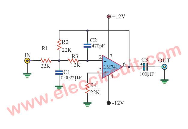 Awe Inspiring Low Pass Audio Filter Circuit Basic Electronics Wiring Diagram Wiring Cloud Licukshollocom