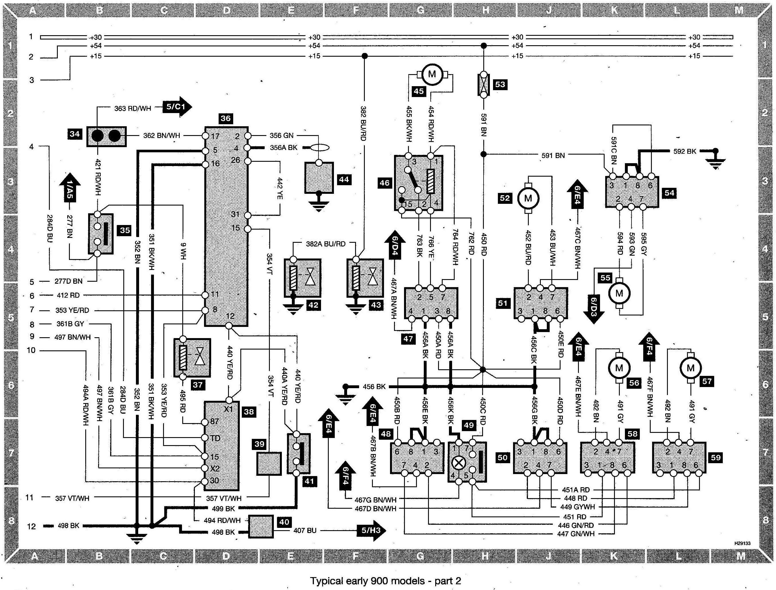 Remarkable Saab 9 5 Wiring Diagram Wiring Diagram Database Wiring Cloud Hemtshollocom