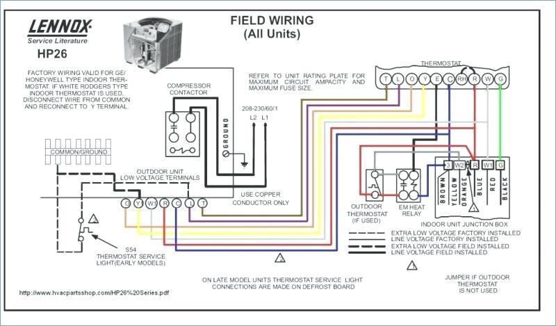 goodman gas furnace thermostat wiring diagram  mars motor