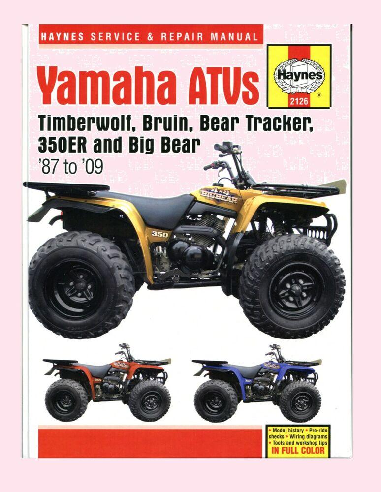 1996 Yamaha Timberwolf 250 Wiring Diagram - Wiring Diagram
